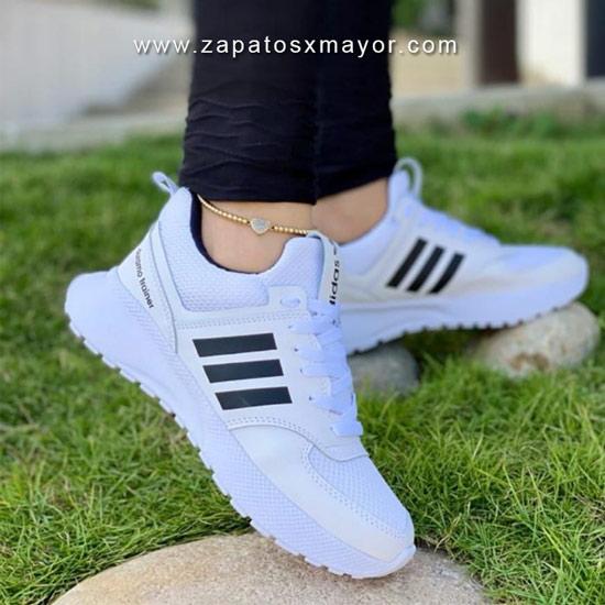 Tenis Deportivos para Mujer blancos zapatillas 2022