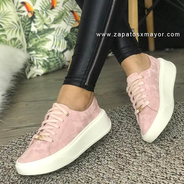 Tenis para Mujer de moda 2021 rosados