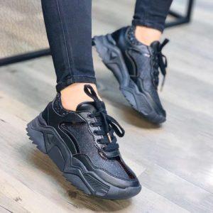 Zapatillas Basic Chunky Negros