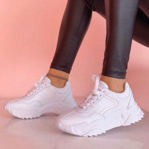 Zapatillas Basic Chunky Blancos