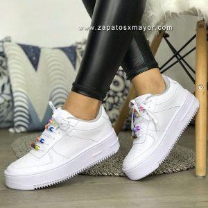 tenis blancos mujer 2020 zapatos casuales