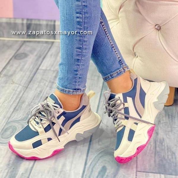 tenis chunky mujer moda 2022 zapatillas