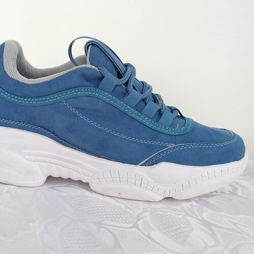 tenis para mujer color azul