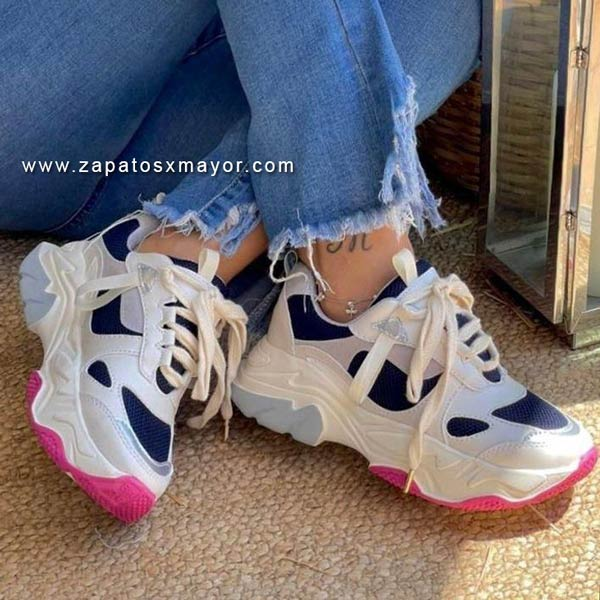 tenis zapatos chunky mujer 2021 colombia