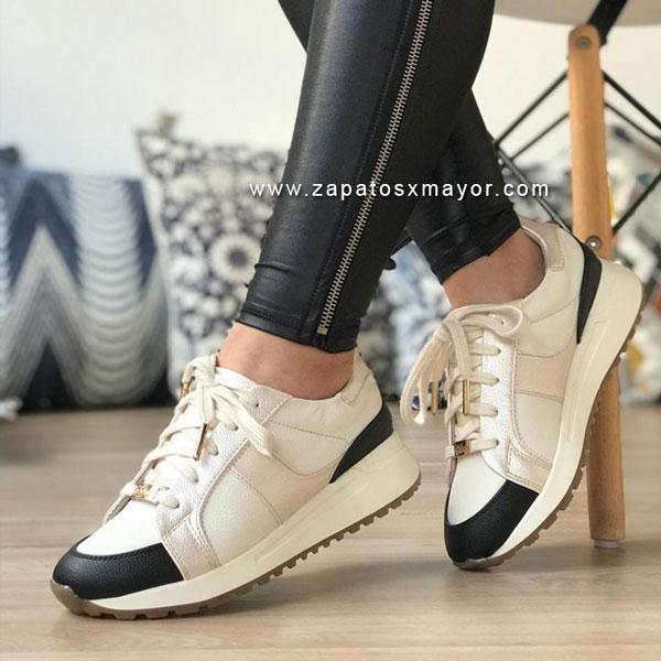 zapatos casuales mujer blancos moda 2021