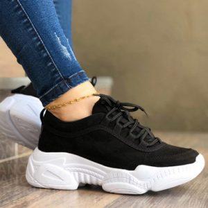 Zapatos mujer negros nubuck