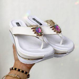 sandalias altas deportivas para dama