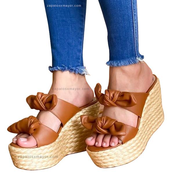 Sandalias en Yute para Mujer 2021