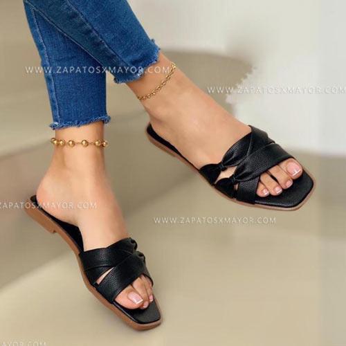sandalia plana colombia para mujer