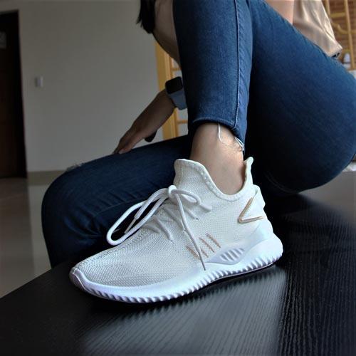 tenis blancos para mujer de moda nuevos
